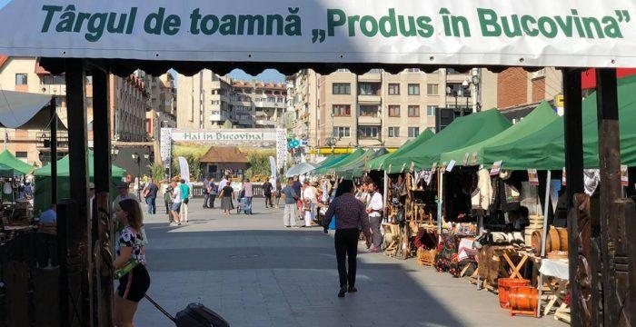 """La Suceava, s-a deschis Târgul de toamnă""""Produs în Bucovina"""""""
