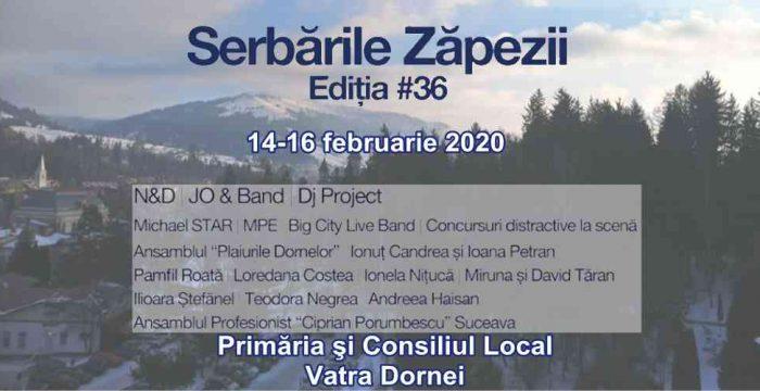 Serbările Zăpezii 2020, Vatra Dornei